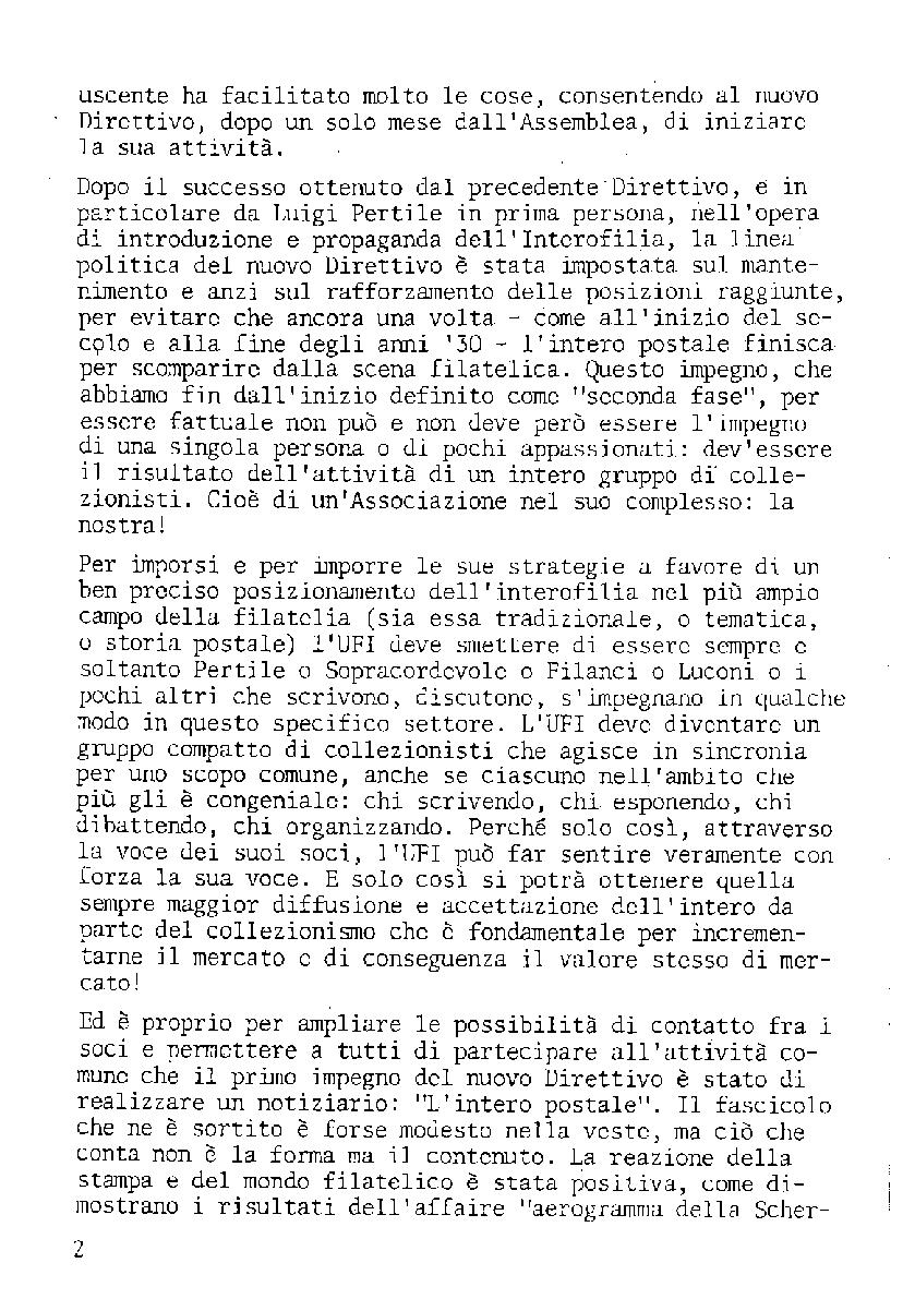 L'Intero Postale dal n. 1 al n. 1380
