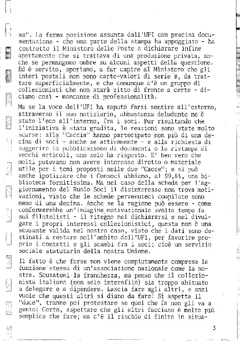 L'Intero Postale dal n. 1 al n. 1381