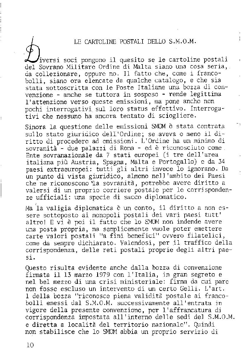 L'Intero Postale dal n. 1 al n. 1388