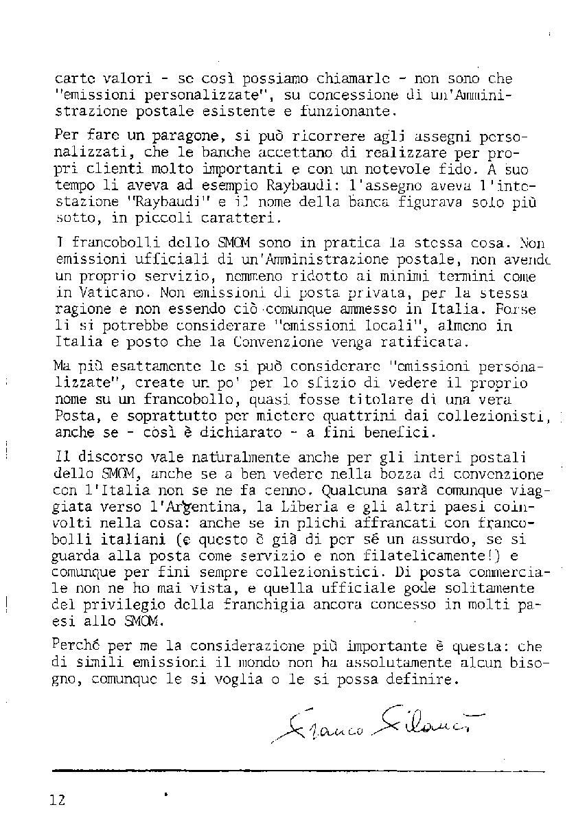 L'Intero Postale dal n. 1 al n. 1390